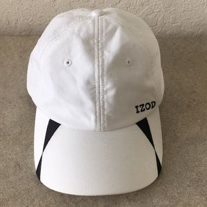 Men IZOD White Adjustable Hats